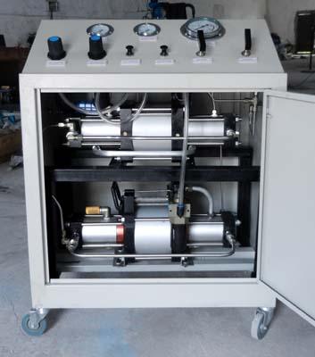 双泵两级气体增压系统图片